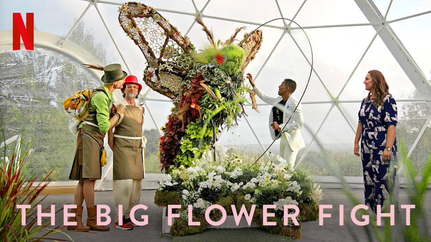 Netflix poster for The Big Flower Fight on Netflix