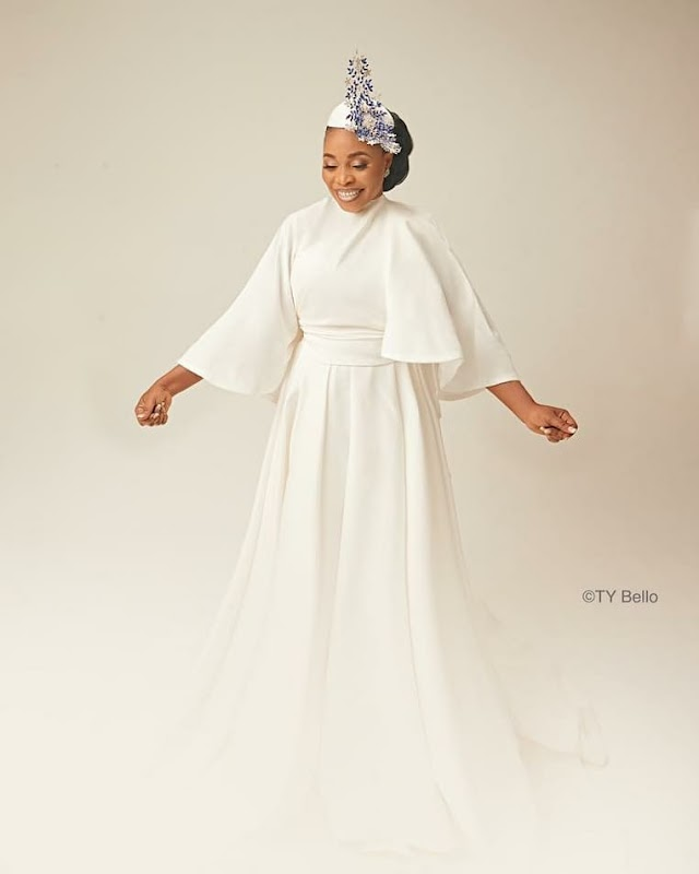 Tope Alabi Still Smiling At 50 - Happy Birthday To Her