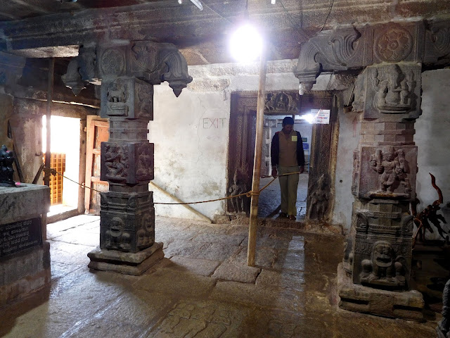 An old temple on the top of Nandi Hill dedicated to Lord Shiva