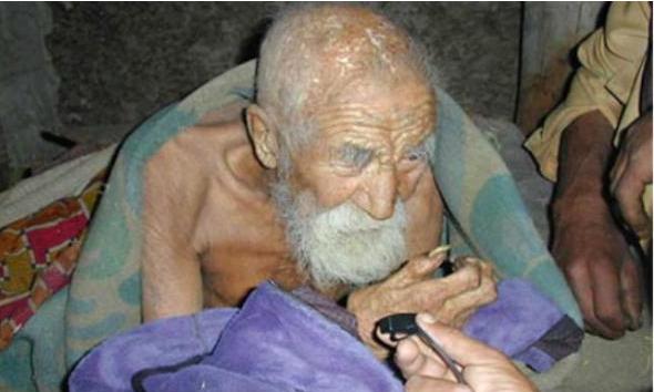 Čovjek u Indiji tvrdi da je star 179 godina.