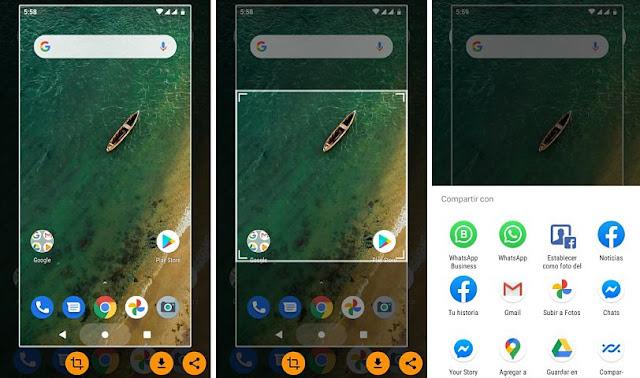 Toma capturas de pantalla fácilmente con la app Screenshot Assistant