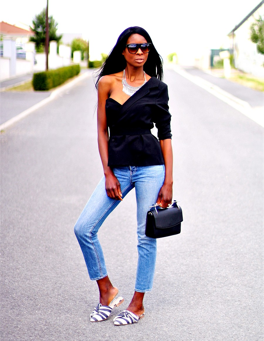 blazer-off-shoulder-missguided-mom-jeans-mules-topshop-sac-zalando