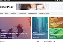 Download NewsPlus Blogger Template (Premium)