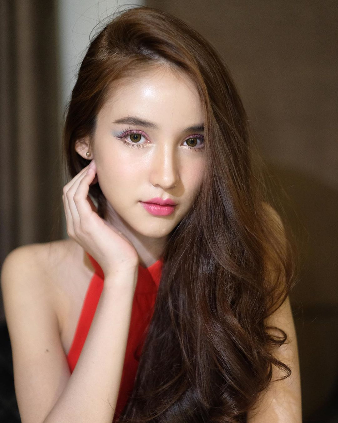 In thailand most beautiful ladyboy Beautiful Shemale