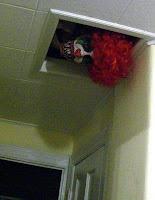 decoracion terrorifica de payaso para halloween