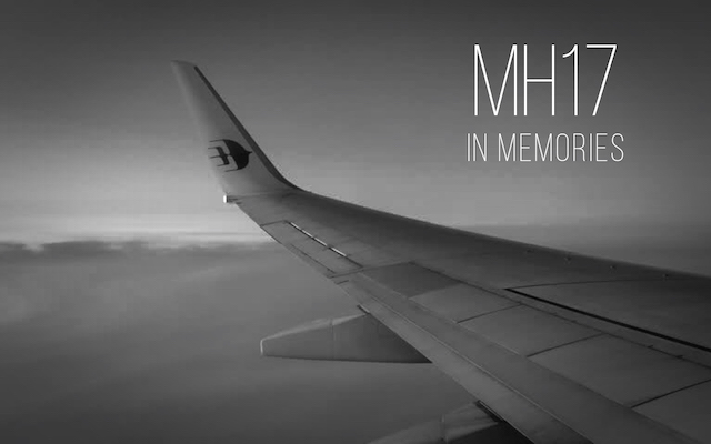 MH17: Forever in our memories