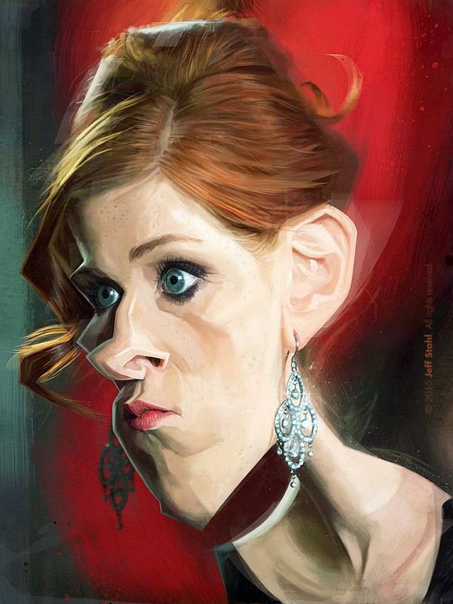 Audrey Fleurot por Jeff Stahl