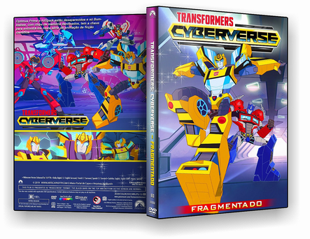 DVD Transformers Cyberverse - Fragmentado 2019 - DVD-R