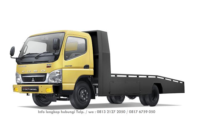harga mobil towing mitsubishi canter 2020, harga colt diesel truk gendong 2020