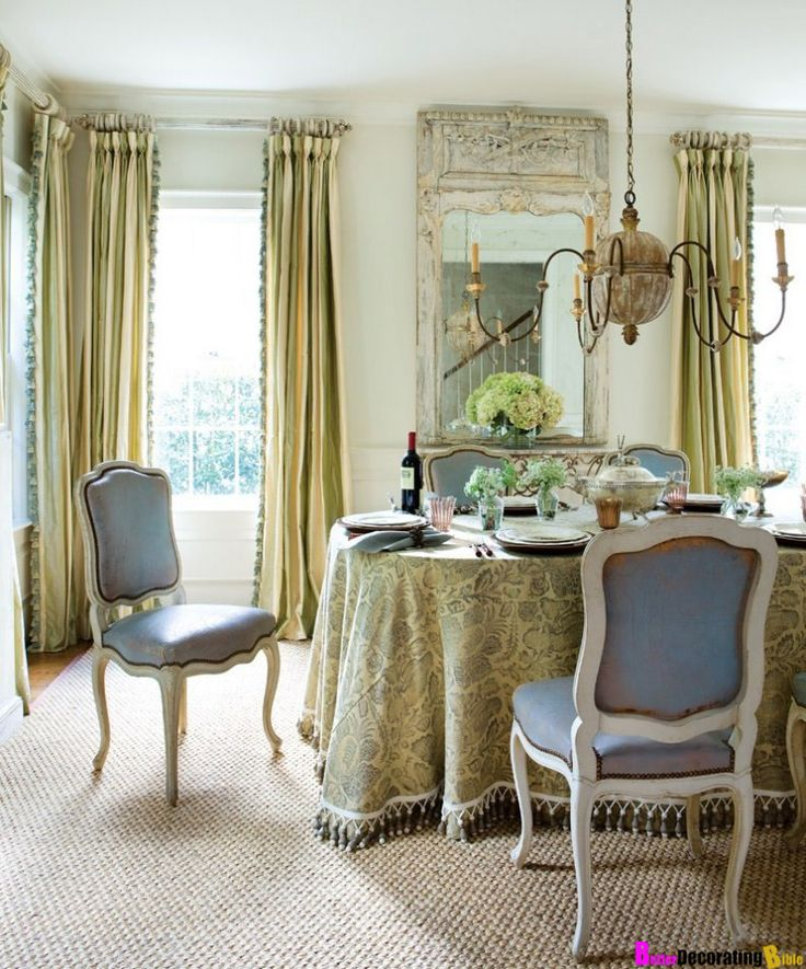 Feast Your Eyes Gorgeous Dining Room Decorating Ideas: South Shore Decorating Blog: Lazy Sunday Eye Candy