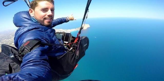 MUNDO: Youtuber Rubén Carbonell murió por un accidente al practicar saltó base cuando su paracaídas falló.