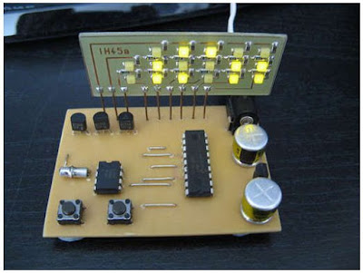 binary clock saat