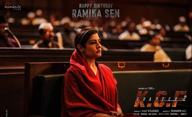 Yash, Sanjay Dutt, Raveena Tandon upcoming movie KGF Chapter 2