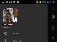 Download BBM MOD Dark Grey v3.3.8.71 APK Terbaru