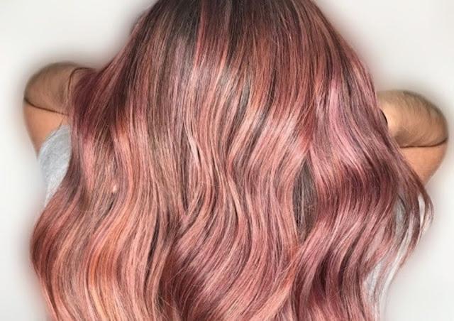pink - champagne - tendance capillaire - couleur - cheveux - cheveux colores