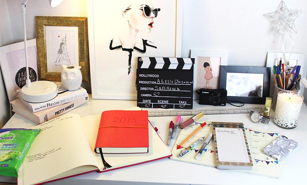 My Blogger Desk Essentials