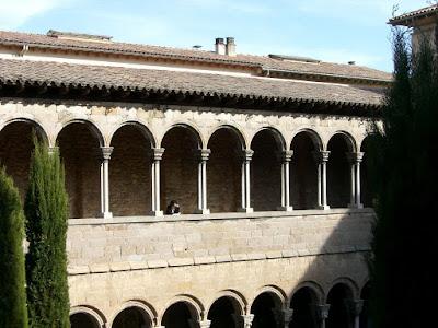 Claustro del monasterio de Ripoll