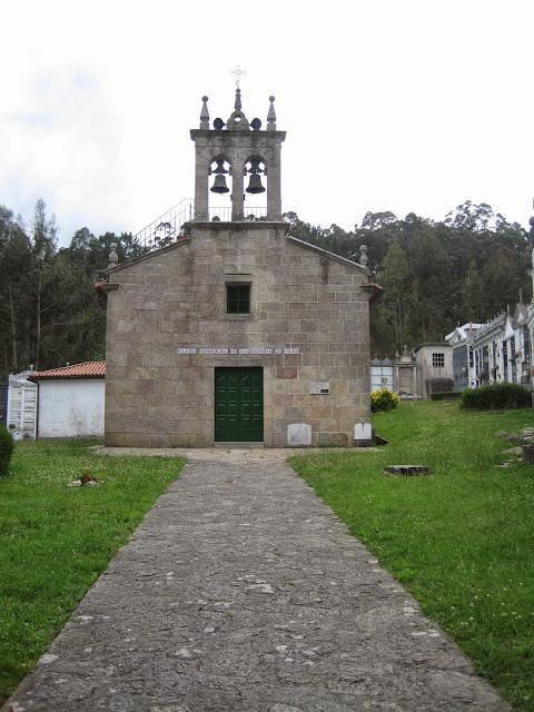 Iglesia de San Estevo de Paleo en Carral