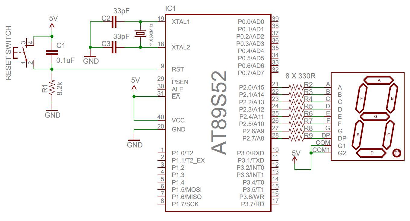seven segment interface circuit diagram [ 1359 x 733 Pixel ]