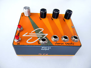 dpFX Stereo Effects Mixer, stereo pedal blender