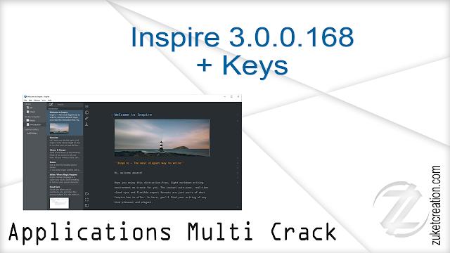Inspire 3.0.0.168 + Keys   |  34 MB