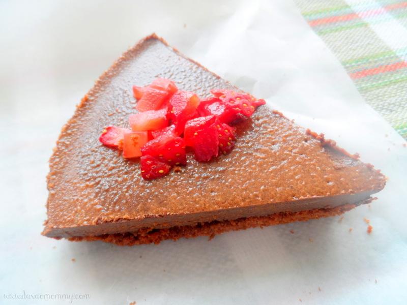 Sea Green Tablea Cheesecake