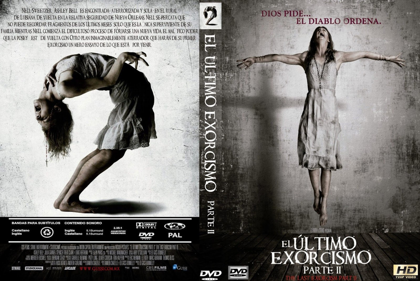 The Last Exorcism 2 Dvd Cover 2 - the last exorcism 2