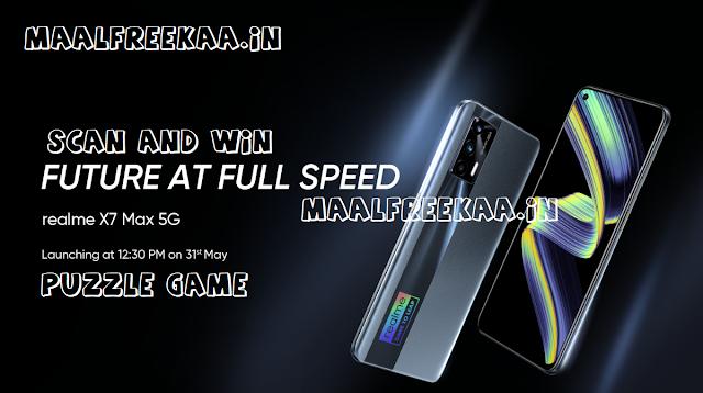 Wanna Get Realme X7 MAX 5G FREE