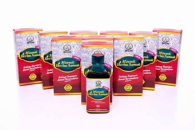 Minyak Herba Asmak Penawar Mujarab Dan Penawar Asma Untuk Seisi Keluarga