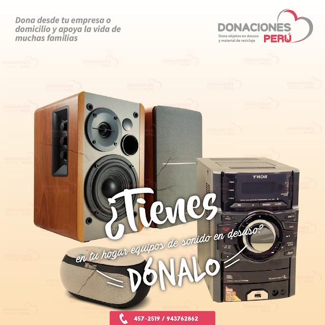 Dona equipos en desuso - Donaciones - Dónalo -Donaciones Perú