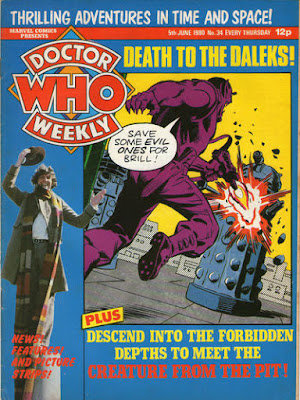 Doctor Who Weekly #34, Daleks