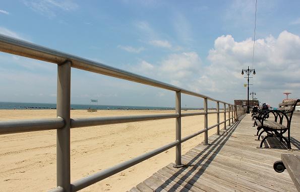 Coney Island boardwalk New York