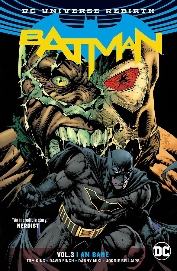 batman vs bane dc rebirth comics