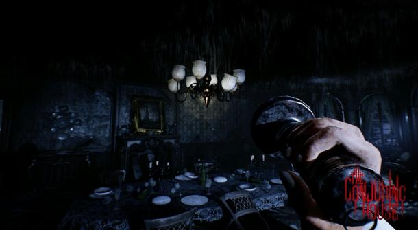 ... The Conjuring House. خرجت اللعبة للنور لأول مرة في أبريل عام 2014 بعرض  دعائي يستعرض عالم اللعبة وقصتها إلا أنه ومنذ يومين عادت اللعبة من جديد  بالعرض ...