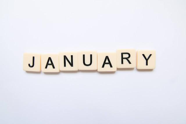 Scrabble letters spell January Photo by Glen Carrie on Unsplash