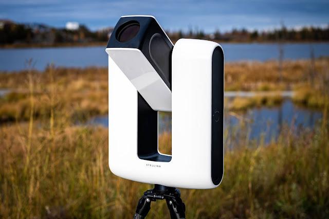 Smart Telescope taking snaps Celestial Moment