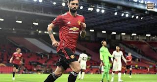 تقرير المباراة: مانشستر يونايتد ضد روما  (6 - 2) - يونايتد يعاقب روما بسداسية 2021/4/29