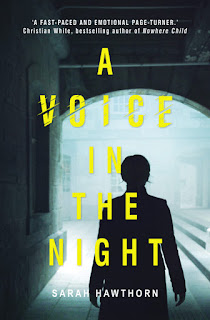 A Voice in the Night by Sarah Hawthorn book cover