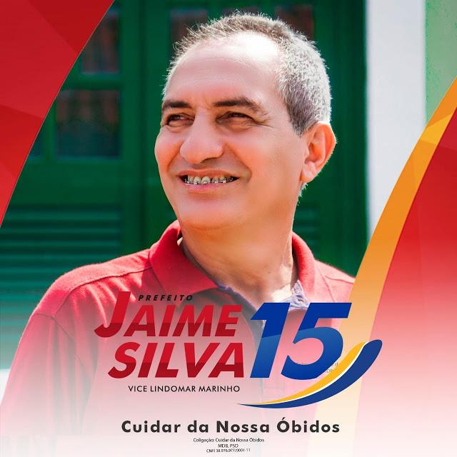 Eleição 2020 Óbidos: Justiça eleitoral notifica Jaime silva sobre contas rejeitadas pelo TCU