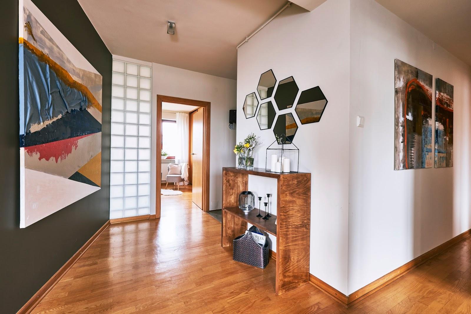 Mieszkanie po metamorfozie / home staging - Projektantka ma PLAN