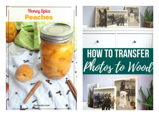 The Ultimate Pinterest Party Week 157 favorites of Home Crafts by Ali