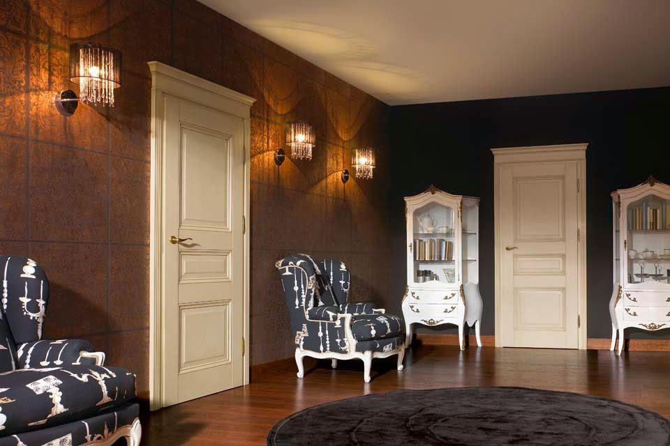 Nobili Design | Design interior case apartamente cu usi de interior stil clasic