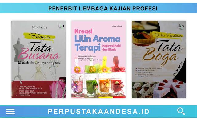 Daftar Judul Buku-Buku Penerbit Lembaga Kajian Profesi