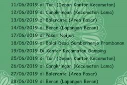 Jadwal Samsat Keliling Sleman Juni 2019