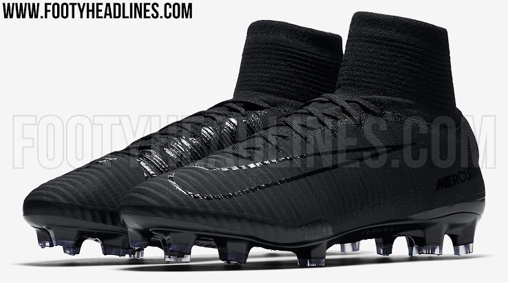 8eccccf2523f Blackout Nike Mercurial Superfly V 2017 Boots Released - Leaked ...