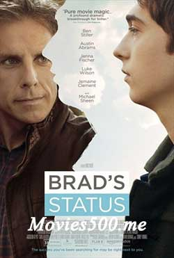 Brads Status 2017 Hollywood 300MB WEB DL 480p at movies500.me