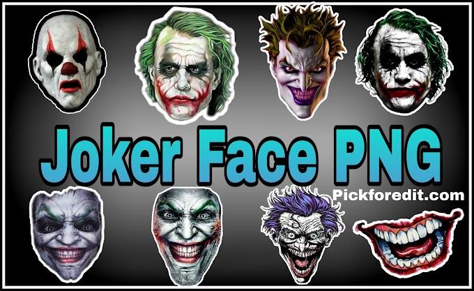 Joker Face PNG - Joker Face, Joker PNG Image Transparent Free Download