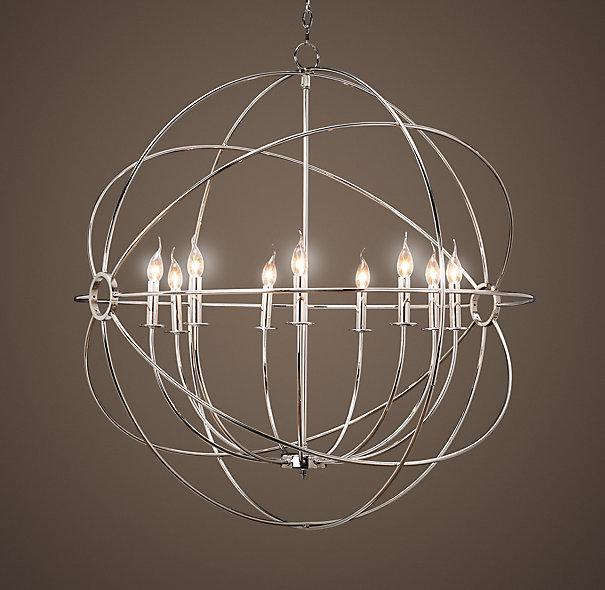 Restoration Hardware Lighting Orb: Entry Light (Orb Chandelier)