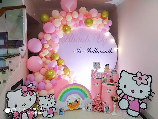 thuê trang trí sinh nhật tại nhà thanh xuân