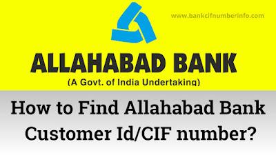 Allahabad Bank Customer Id